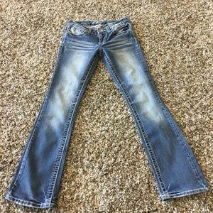 Vanity blue jeans 25W/31L